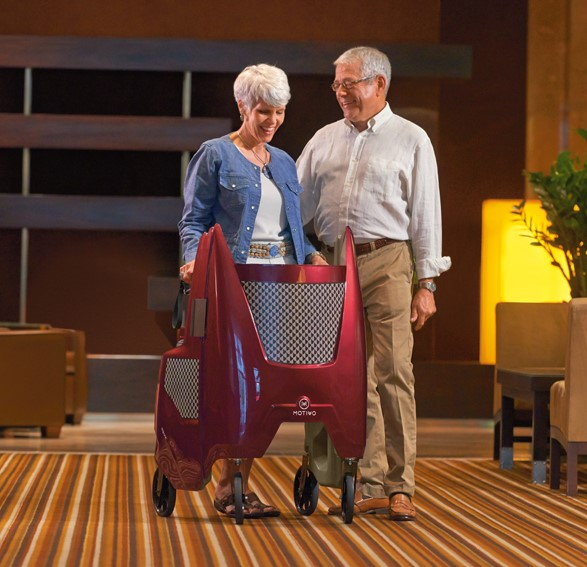 Motivo Unveils the Tour- A Walker Designed for People's Lives, Not Just Their Conditions