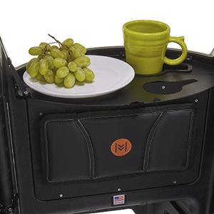 Flip-Out Tray with Cup Holders